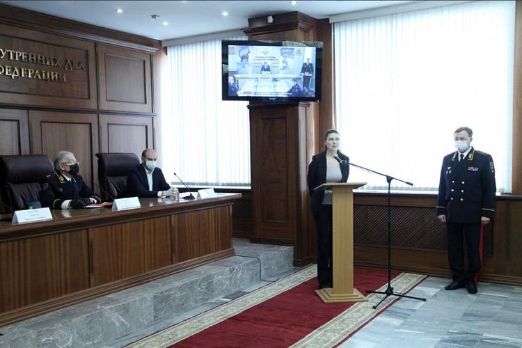 Первый заместитель главного редактора «Комсомольской правды» Олеся Носова. Фото: mvdmedia.ru