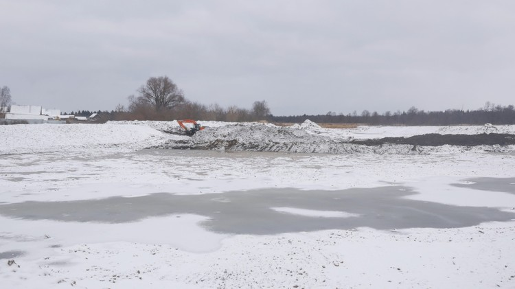 Так сейчас выглядит пруд в селе Вавож.