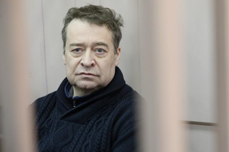 Бывший губернатор Республики Марий Эл Леонид Маркелов в Басманном суде. Фото: Александр Щербак/ТАСС
