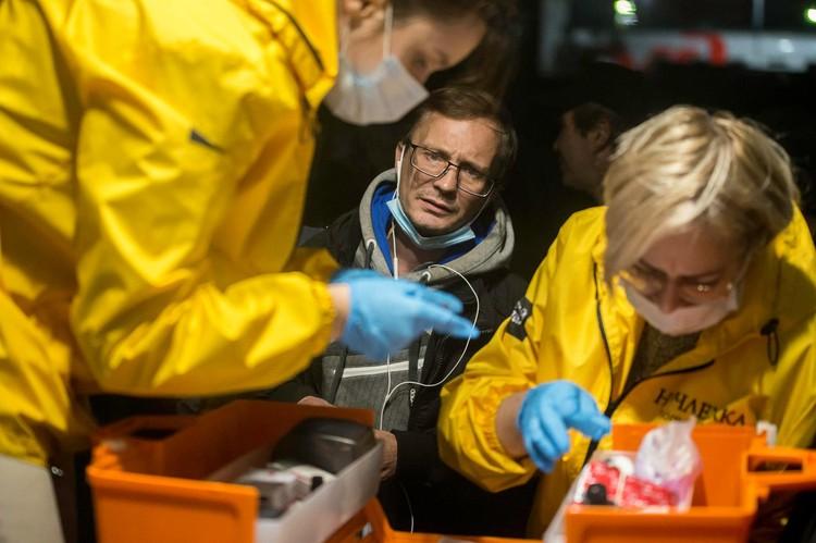 Волонтеры «Ночлежки», помогающей бездомным людям. Фото предоставлено фондом