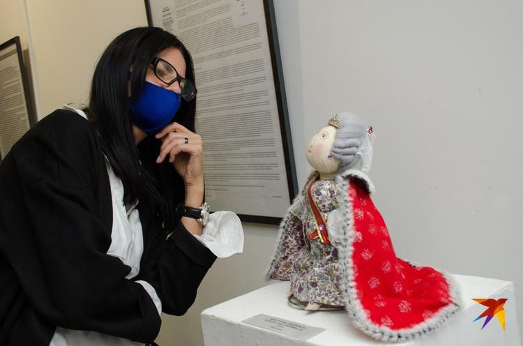 В музее Машкова открылась выставка работ мастеров народной куклы.