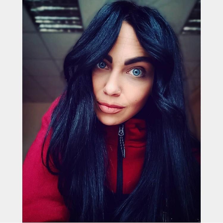 Пользователи отмечают неестественный цвет глаз у Ксении Фото: соцсети