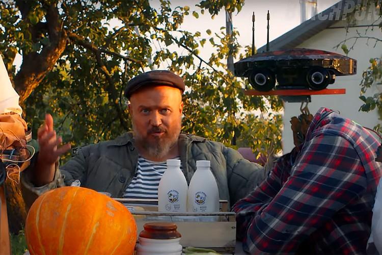 Авторы ролика - довольно известная компания, занимающаяся созданием спецэффектов для отечественных блокбастеров