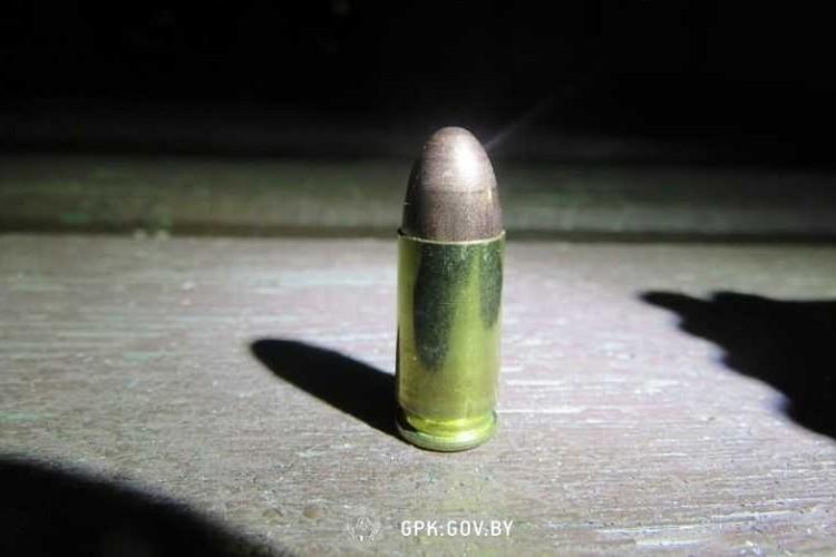 Найденные патроны передали в милицию. Фото: ГПК.