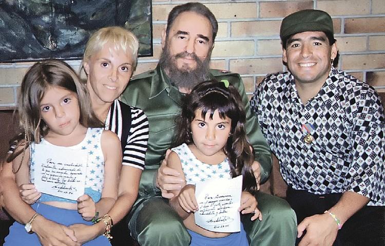Спортсмен не раз приезжал на Кубу в гости к Фиделю Кастро. Сначала с Клаудией и дочками, а потом он там лечился от наркозависимости. Фото: Rafael PEREZ/REUTERS