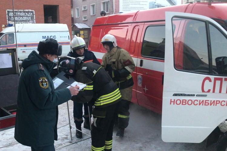 Следствие продолжается. Фото: ГУ МЧС по Новосибирской области.