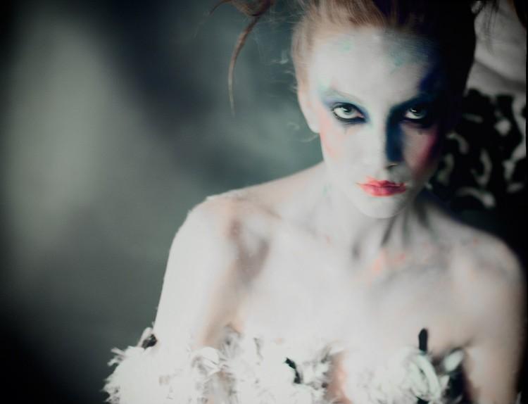 Лилия снималась для модных журналов
