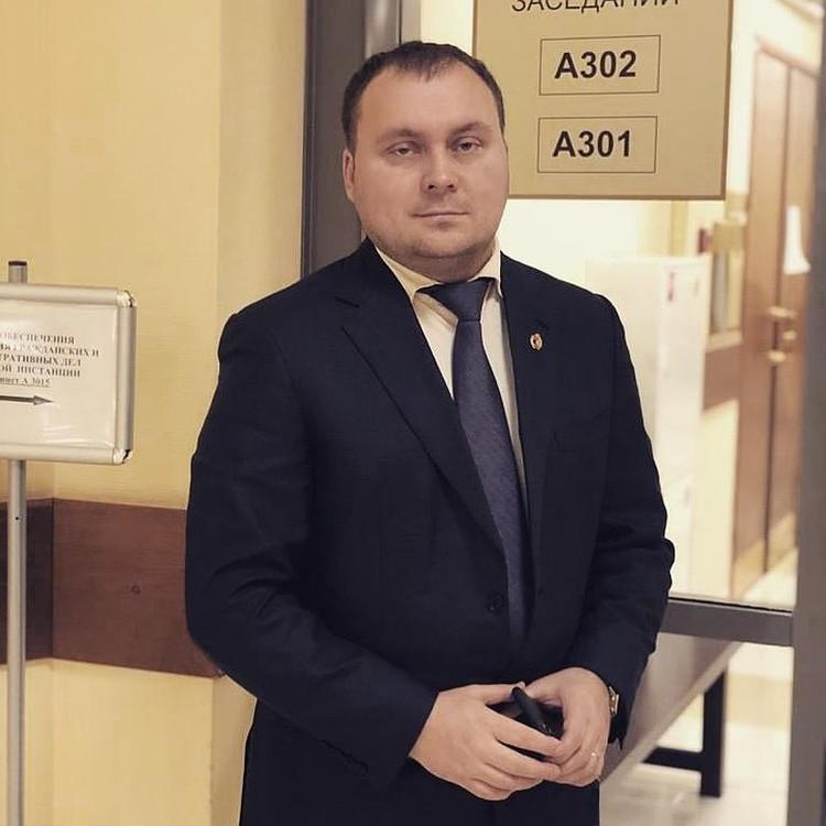 Адвокат Ефремова Андрей Алешкин.