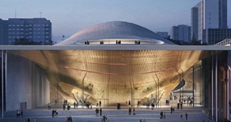 Проект нового зала филармонии, ради которого снесли дом. Фото: Минстрой Свердловской области