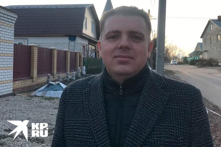 Директор Муромских теплосетей Алексей Загладин.