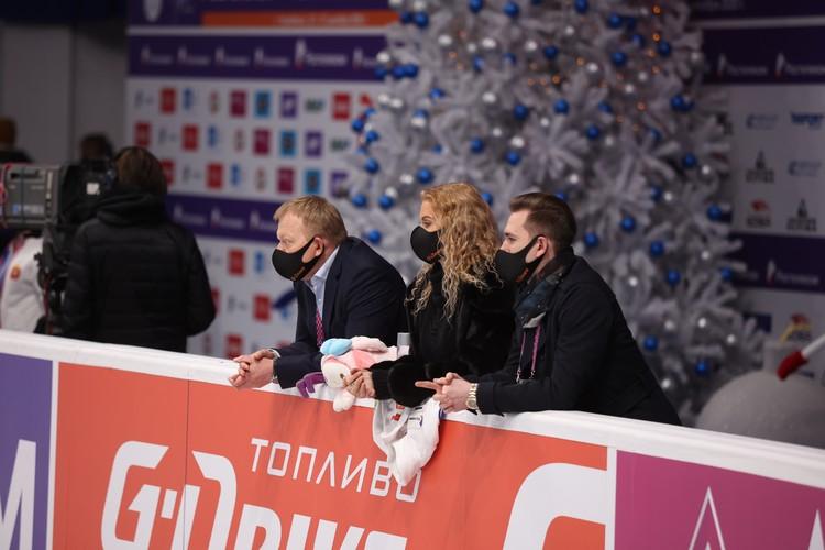 Этери Тутберидзе прилетела в Челябинск вчера