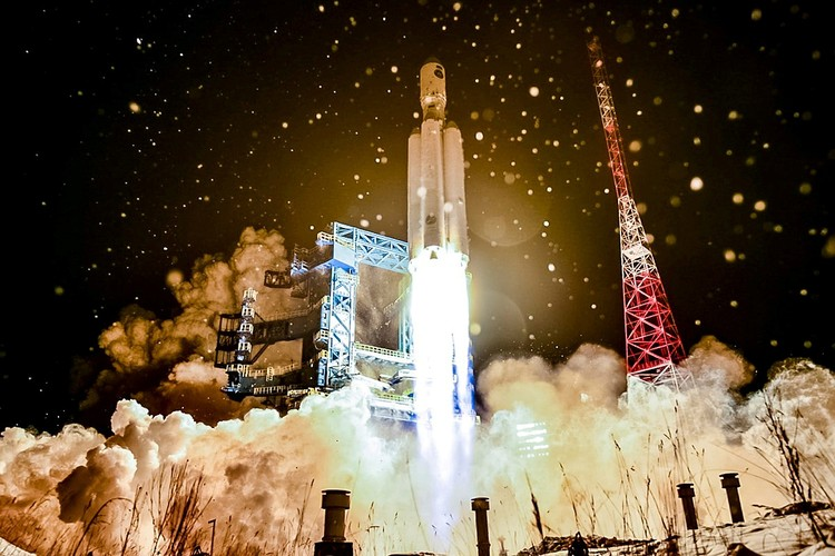 В уходящем году Россия запустила в космос ракету «Ангара»