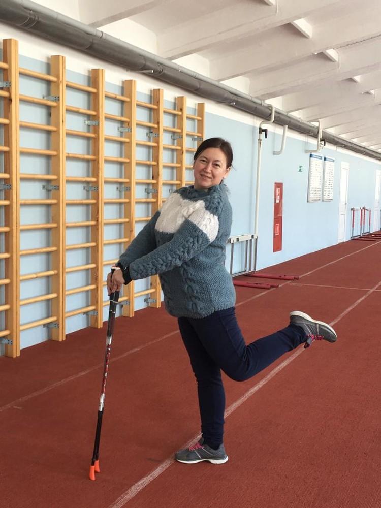Скандинавская ходьба - для грациозных!