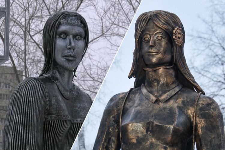Еще одна девица пугает жителей Новосибирска. Правда, ей до славы сестрицы Аленушки ой как далеко.