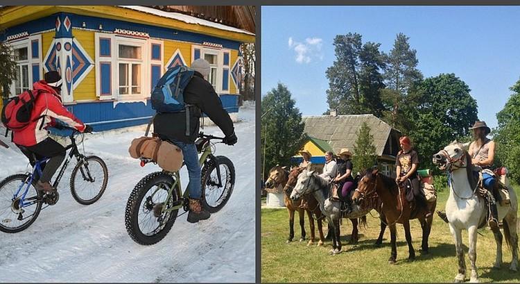 """Белорусские усадьбы предлагают сегодня отдых на любой вкус. Можно отдыхать активно... Фото с сайте БООО """"Отдых в деревне""""."""