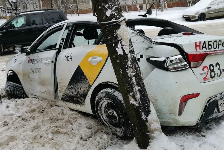 Серьезная авария произошла в центре Нижнего Новгорода. ФОТО: Регион-52