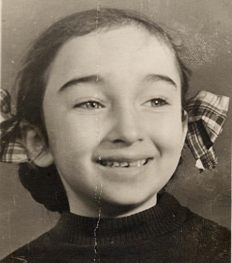 Наталья Кремнева в детстве. Фото: предоставлено фондом «Со-единение»