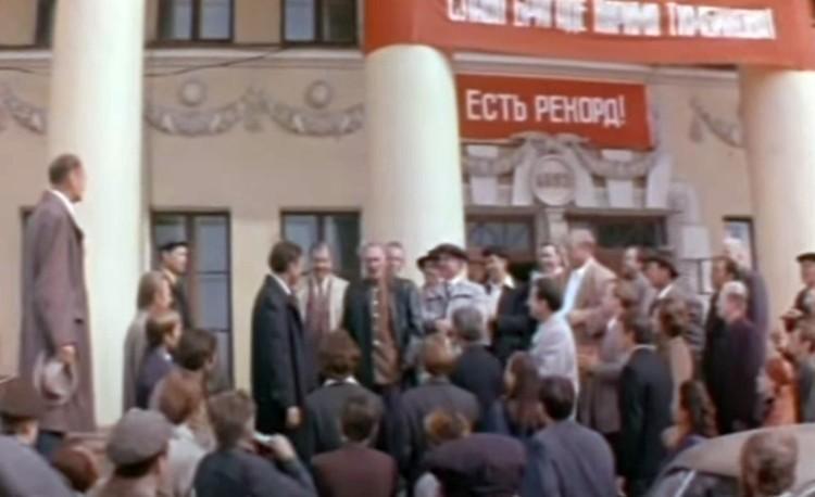 То самое место с фотографии в фильме «Клад» 1975 года. Режиссер: Ольгерд Воронцов