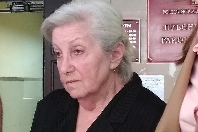 Сестра покойной Элины Быстрицкой Софья Шегельман