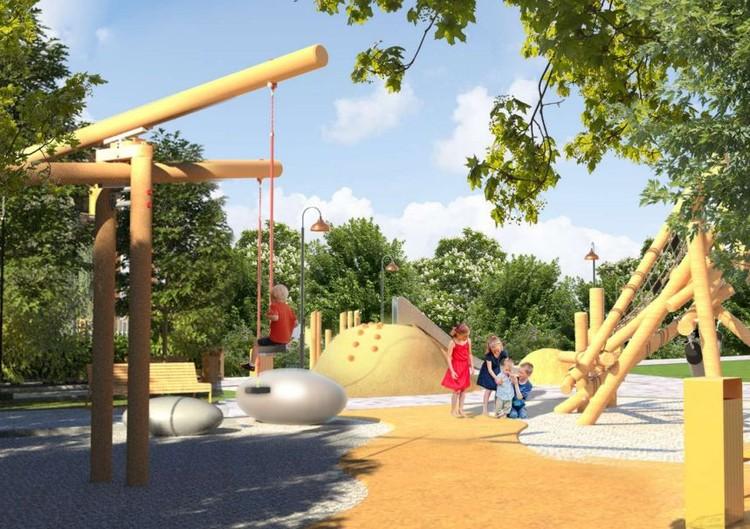 Детская игровая зона. Фото: Forum Group, предоставлено администрацией Екатеринбурга