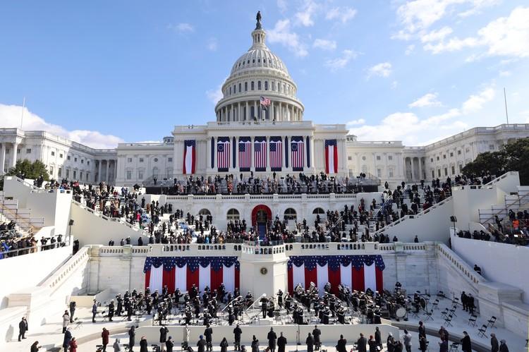 В Вашингтоне прошла церемония инаугурации избранного президента США.