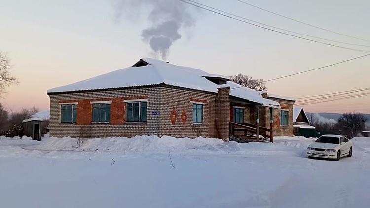 Местная здравница. Фото: Владимир Кобзарь