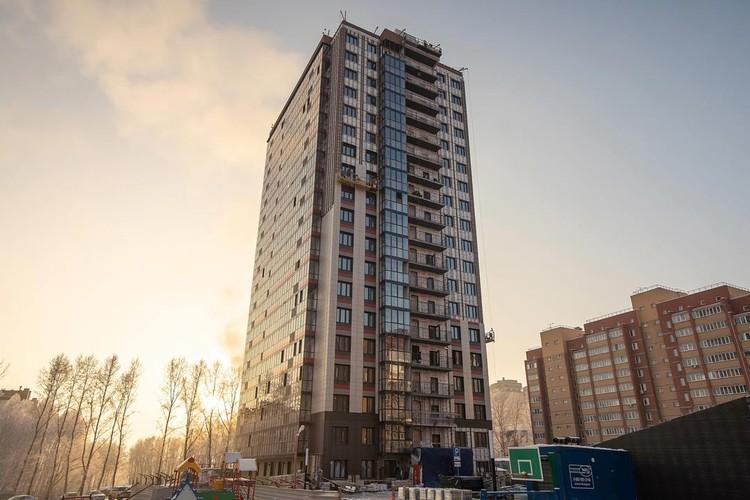 Жилой дом «Ника» будет построен в микрорайоне Родники по адресу: ул. Немыткина, 9/1. Фото предоставлено ГК «ВИРА-Строй».