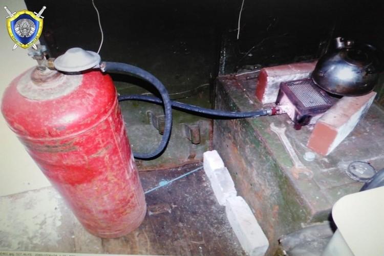 Предварительная причина смерти - отравление газом. Фото: телеграм-канал СК