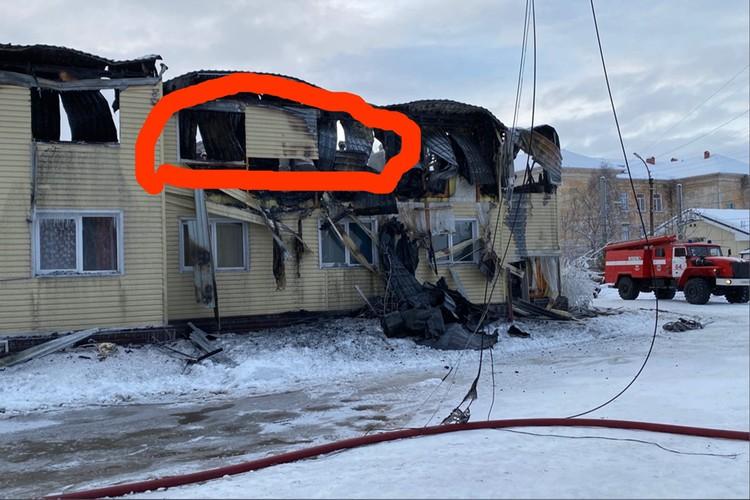 Квартира Натальи находилась в подъезде, который уничтожил огонь. Фото: Личный архив Натальи Ивановой.