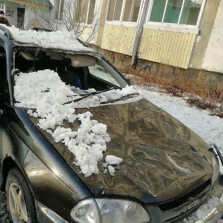 Автомобиль серьезно пострадал. Фото: Instagram/arstv