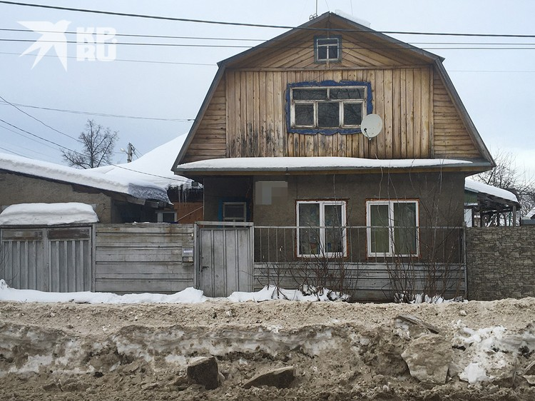 Дом Санкина, где он год пробыл в «предварительном заключении».