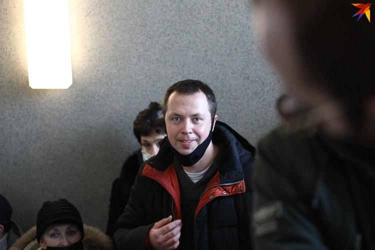 На суд пришел и Борис Горецкий, зампредседателя БАЖ.