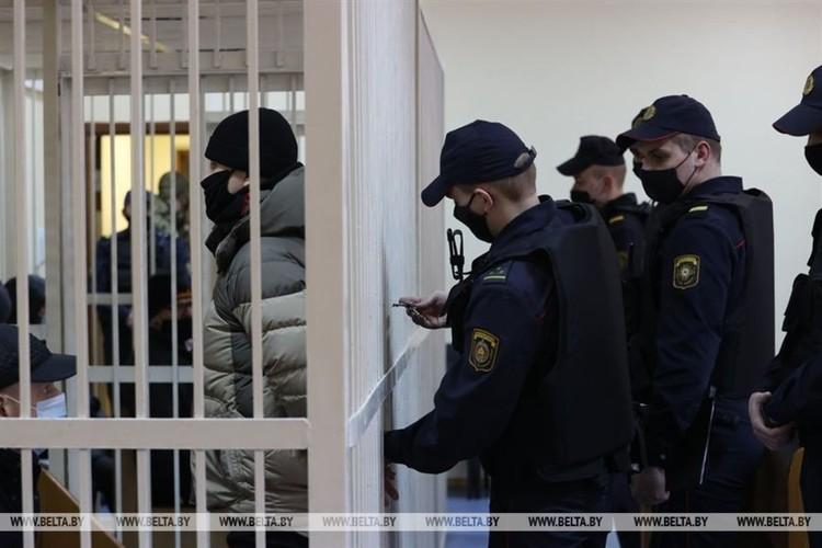 17 февраля началось первое заседание по делу Белгазпромбанка. Фото: belta.by