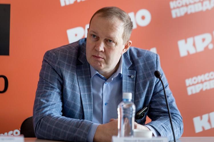 Доцент кафедры автомобильного транспорта ЮУрГУ Николай Горяев