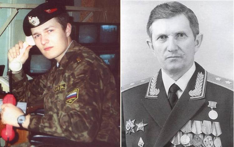 Лейтенант Александр Соломатин, сын генерала Виктора Соломатина.