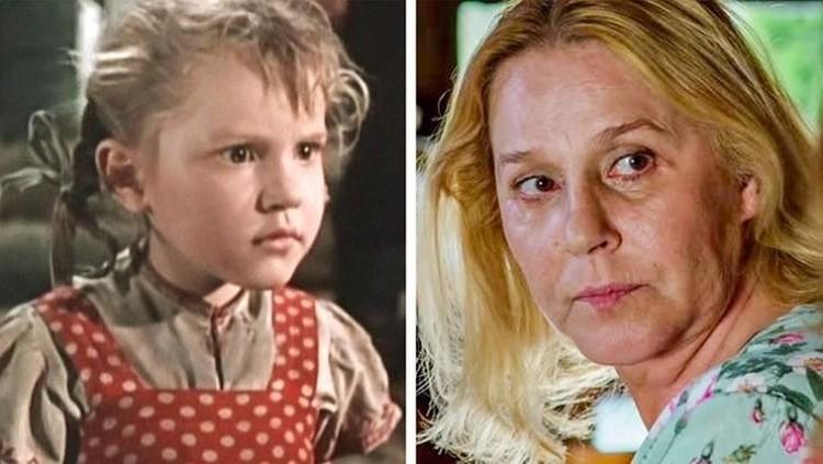 Анна Каменкова начинала карьеру в фильме «Девочка ищет отца». Фото: личный архив