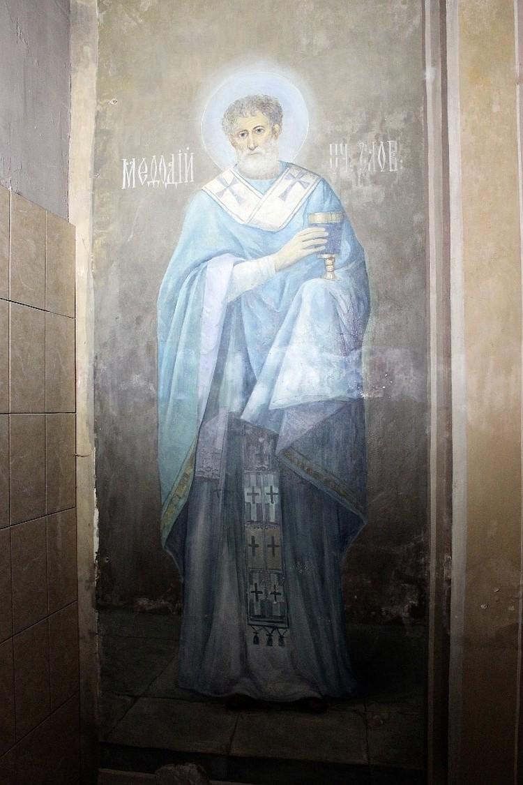 Сохранившаяся в тюрьме фреска