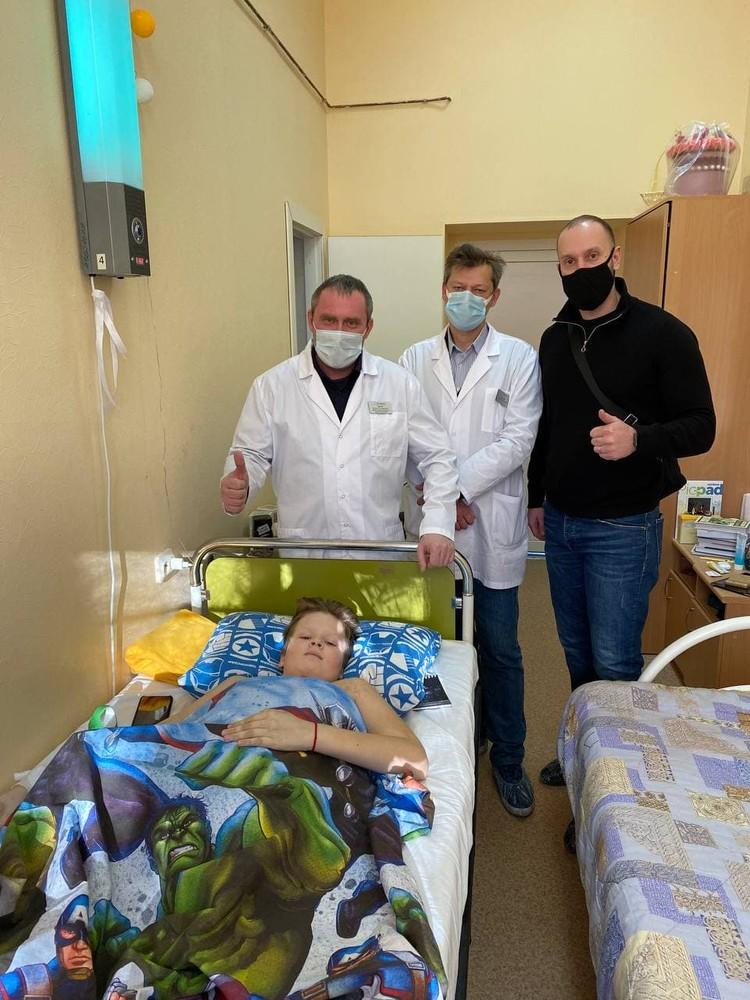 Аркаша даже врачей убедил, что способен поправляться с опережением всех прогнозов. Фото: Мария Петрова