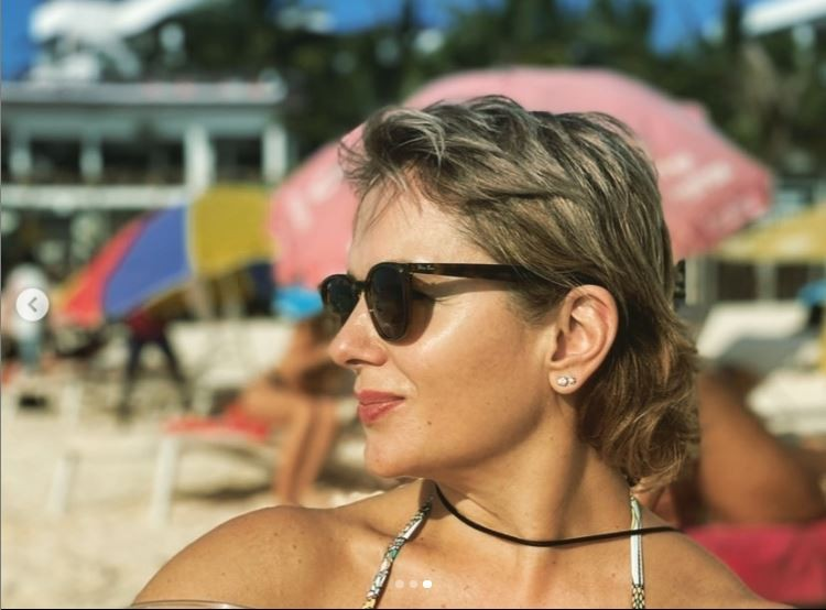 Актриса отдыхает на тропическом курорте. Фото: Инстаграм.