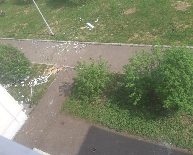 Взрыв разрушил несколько этажей школы