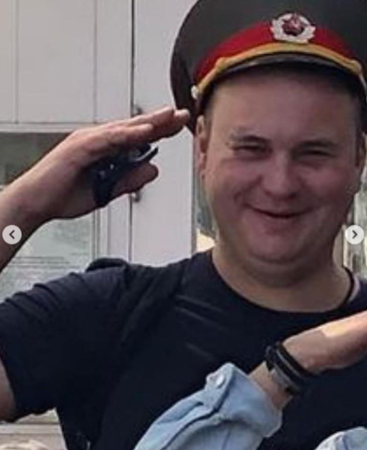 В прошлом Дмитрий уже был не в ладах с законом. Фото: скриншот видео Olga Chocolate в Instagram
