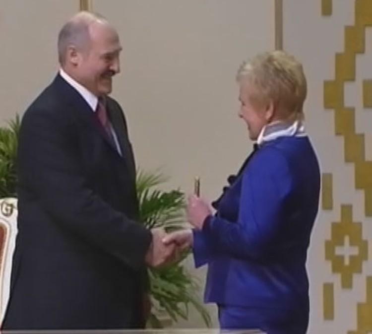 Инагурация Александра Лукашенко.