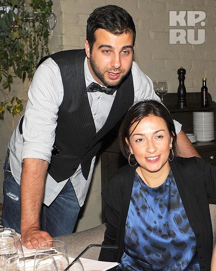 Иван Ургант с женой Натальей.