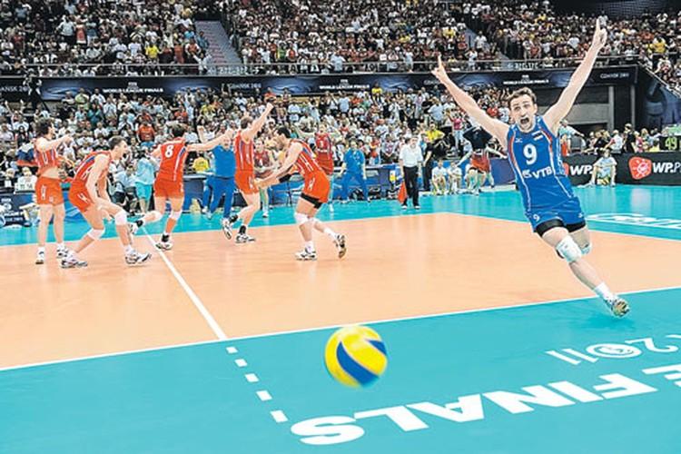 Россияне радовались как дети: это первая победа сборной в финале Мировой лиги за последние 9 лет.