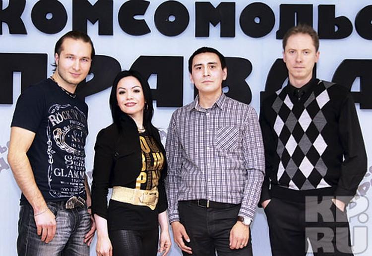 Жюри (слева направо): Дмитрий, Эля, Булат  и Александр были поставлены перед нелегким выбором, ведь среди наших читателей было очень много по-настоящему талантливых людей
