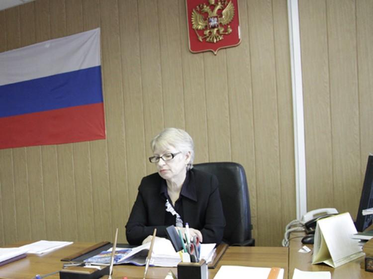 Председатель Лесосибирского городского суда Алефтина Игнатьева