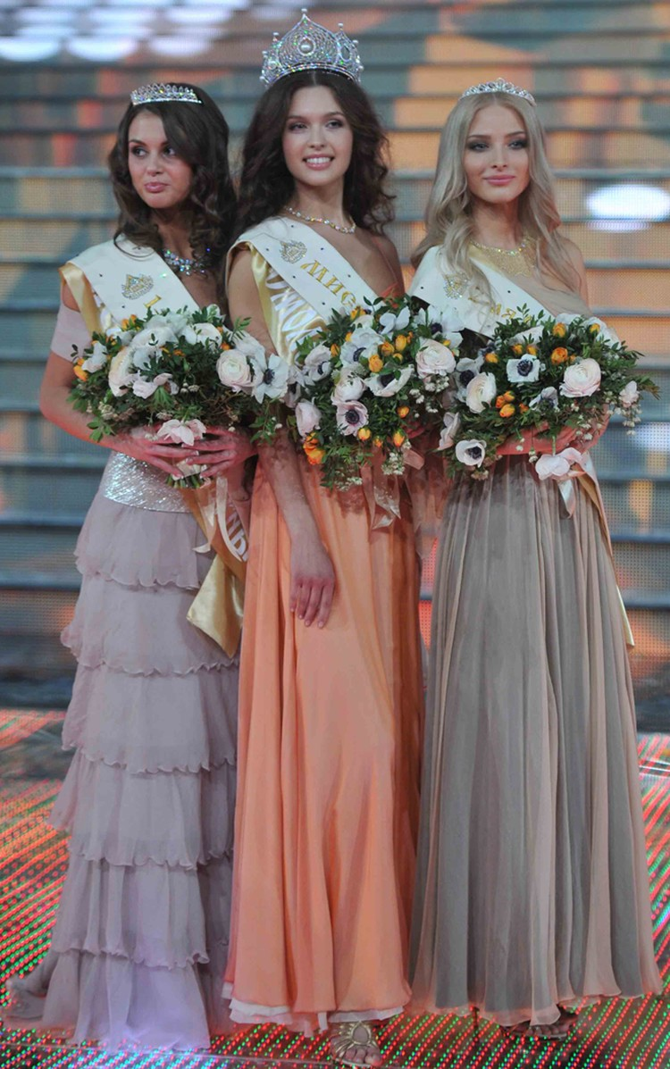 Победительницы конкурса Мисс Россия-2012