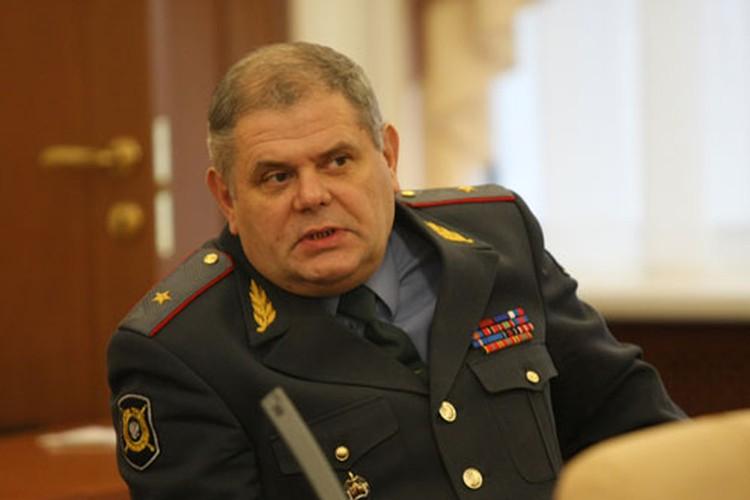 Александр Голубцов, начальник УМВД по Владимирской области