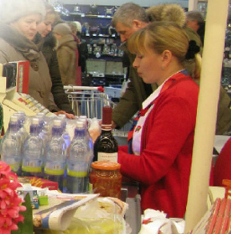 Есть должности, где москвичей почти не встретишь. Одна из таких - продавец супермаркета.
