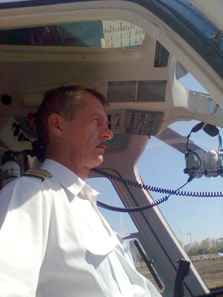 Пилот Валерий Майоров погиб при крушении